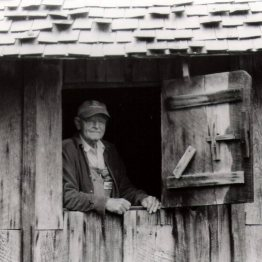The keeper of the old mill in Cades Cove, Tennessee. ~ Vicki Valosik