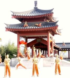 Quiet Shaolin Temple Justin Nicholes
